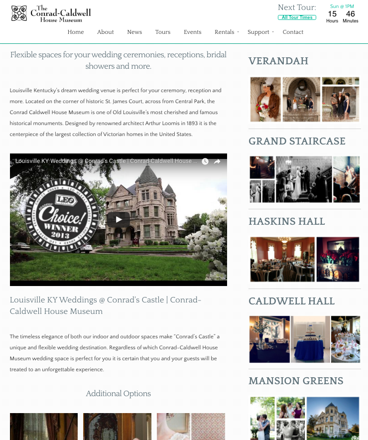 Nonprofit Museum Website Development